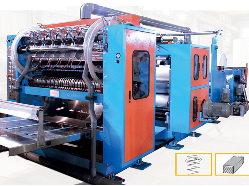 A2. Z fold hand towel converting machine