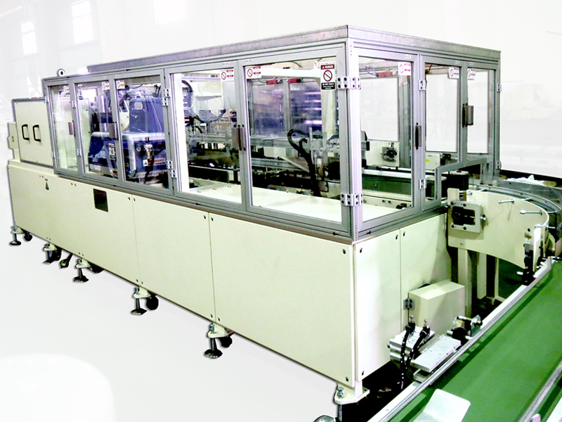 C1-B_Tissue box packing machine (70-80 boxes) Flat type) Flat type